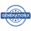 Generation X — Stock Photo