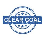 Clear Goal — Zdjęcie stockowe