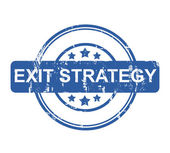 Exitstrategi — Stockfoto