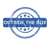 Outside the box — Stock Photo
