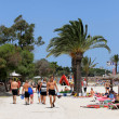 Beach scene on island of Majorca — Stock Photo #37015011