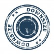 Downsize concept stamp — Stock Photo #37015959