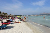 Majorca beach scenic in summer — Stockfoto