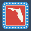 Floridstate button — Stock Photo #40735537