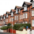 Row of houses on a street — Stock Photo #42450103