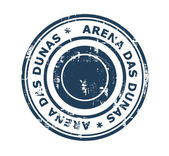 Arena das Dunas stadium stamp — Stock Photo