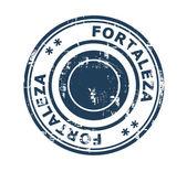 City of Fortaleza in Brazil stamp — Foto de Stock