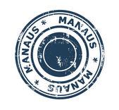 City of Manaus Stamp — Foto Stock