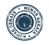 City of Minas Gerais stamp — Stock Photo