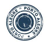 City of Porto Alegre in Brazil — Stock Photo