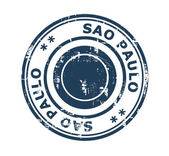 City of Sao Paulo stamp — Stock Photo