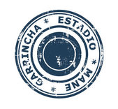 Estadio Mane Garrincha Stamp — Stock Photo