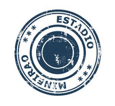 Estadio Mineirao Stadium stamp — Stock Photo