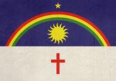 Grunge state flag of Pernambuco in Brazil — Stock Photo