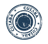 City of Cuiaba Stamp — Foto Stock