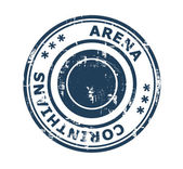 Arena Corinthians stamp — Stock Photo