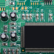 Detail of pcb - Stock Photo