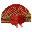 Knitted hat handmade — Stock Photo