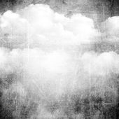 Abstract grunge background with clouds — Stock Photo