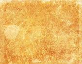 Grunge yellow paper texture, background — Stock Photo