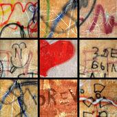 Conjunto de fundos grunge — Fotografia Stock