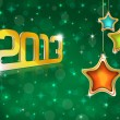 New Year 2013 Greeting Card — Stock Photo