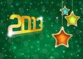 New Year 2013 Greeting Card — Stock Photo