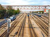Antigua estación de ferrocarril. — Foto de Stock