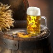 Still life with beer — Stockfoto