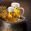 Stok fotoğraf: Still life with beer