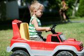 Çocuk oyuncak araba — Stok fotoğraf