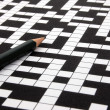 Crossword puzzle — Stock Photo #12870996