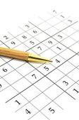 Sudoku game — Stock Photo