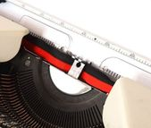 Detail of typewriter — Stock Photo