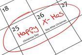 Calendar marking — Stock Photo