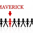 Maverick — Stock Photo