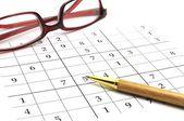 Sudoku-spel — Stockfoto