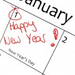 Calendar marking — Stock Photo #34681495