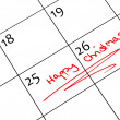 Calendar marking — Stock Photo #34681497