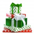 Stack of gift boxes — Stock Photo #14579791