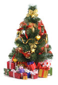 árvore de natal decorada — Fotografia Stock