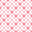 Valentine seamless pattern — Photo