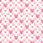 Valentine seamless pattern — Stock Photo