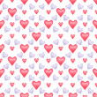 Valentine seamless pattern — Stock Photo #18572729