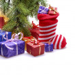 Christmas gifts — Stockfoto #34766845