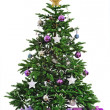 Decorated Christmas tree — Stock Photo #35105135