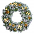 Christmas wreath — Stock Photo #35427547