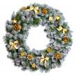 Christmas wreath — Stock Photo