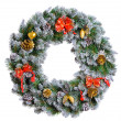 Christmas wreath — Stock Photo #35427589