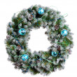 Christmas wreath — Stock Photo #35427603